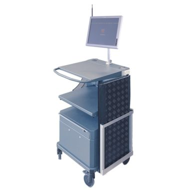 Solcon RFID mobile trolley